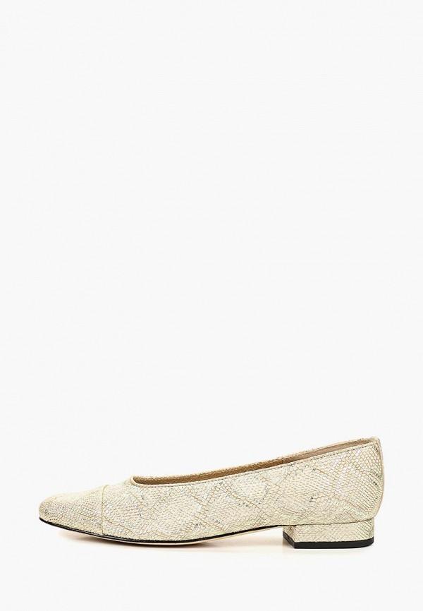 женские туфли vaneli, золотые