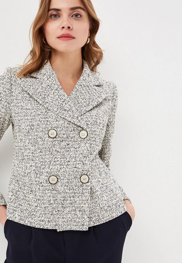 женский пиджак gregory, серый