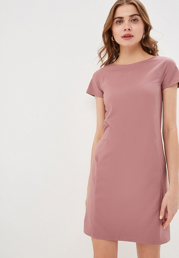 женское платье-футляр gregory, розовое