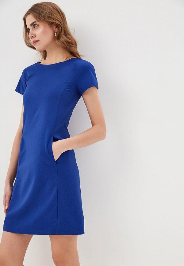 женское платье-футляр gregory, синее