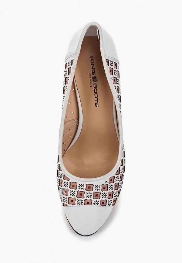 Туфли King Boots цвет белый  Фото 2