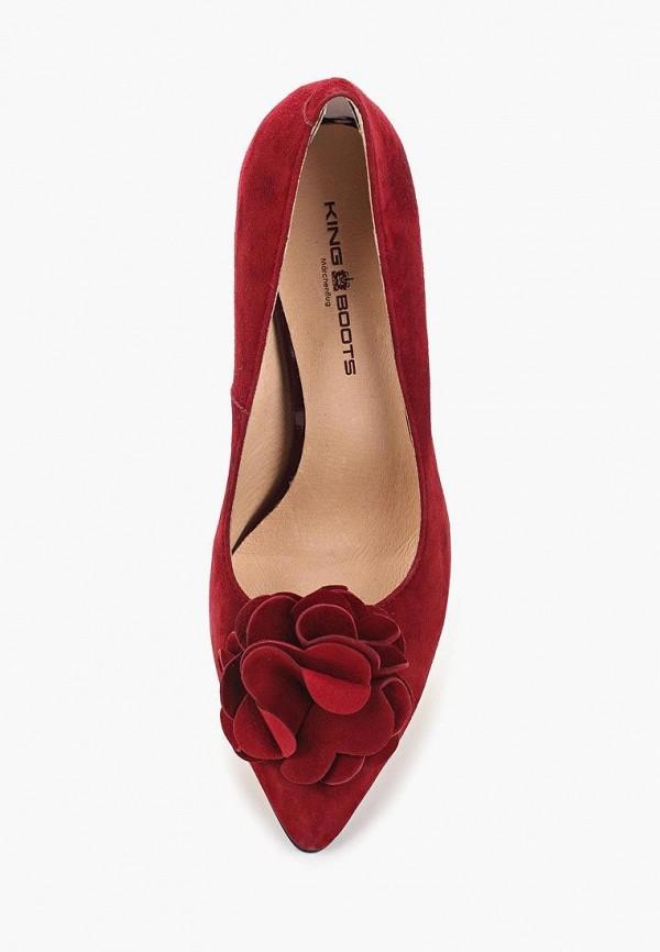 Туфли King Boots цвет красный  Фото 3