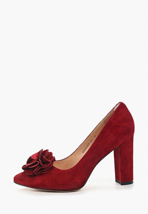 женские туфли king boots, красные