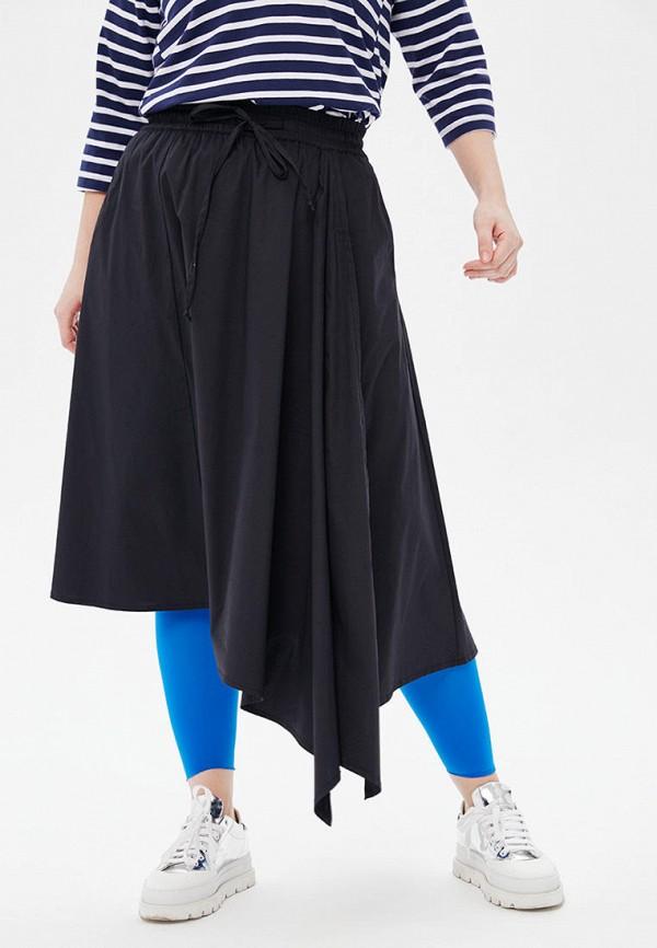 женская юбка lessismore, черная