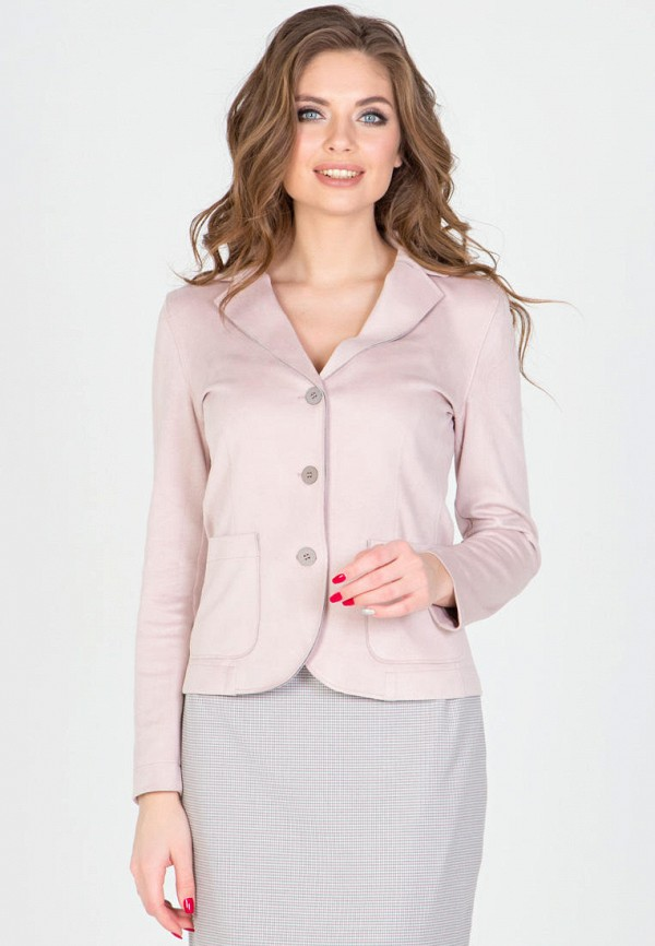 женский жакет filigrana, розовый