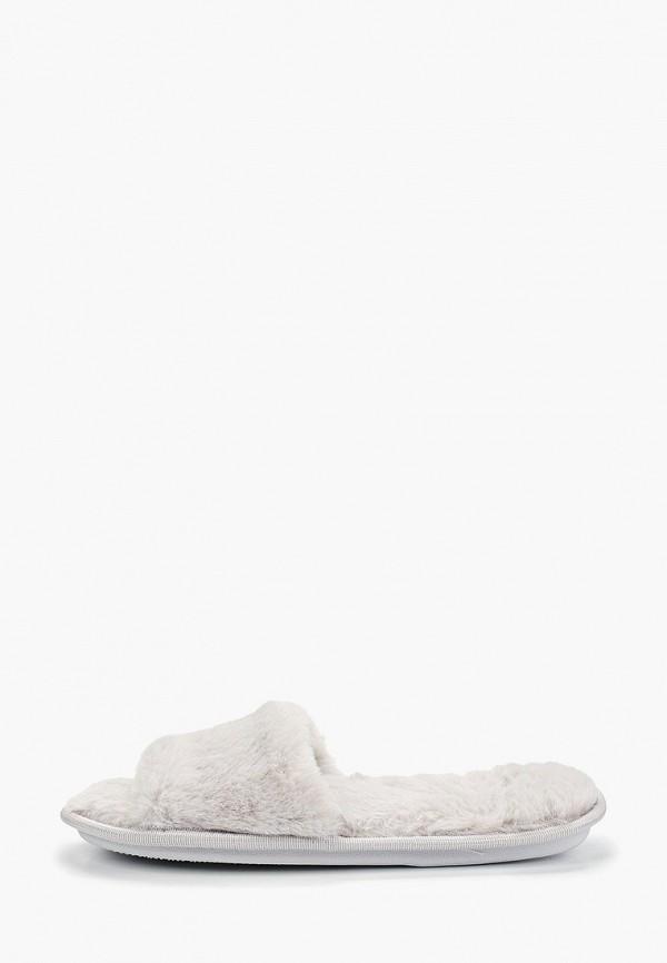 женские тапочки sofi de marko, серые