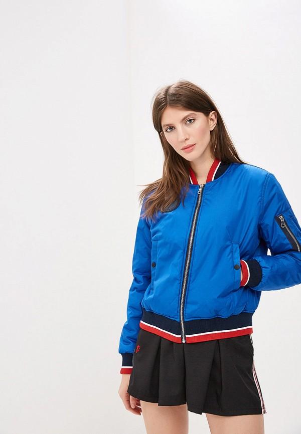 женская куртка forward, синяя
