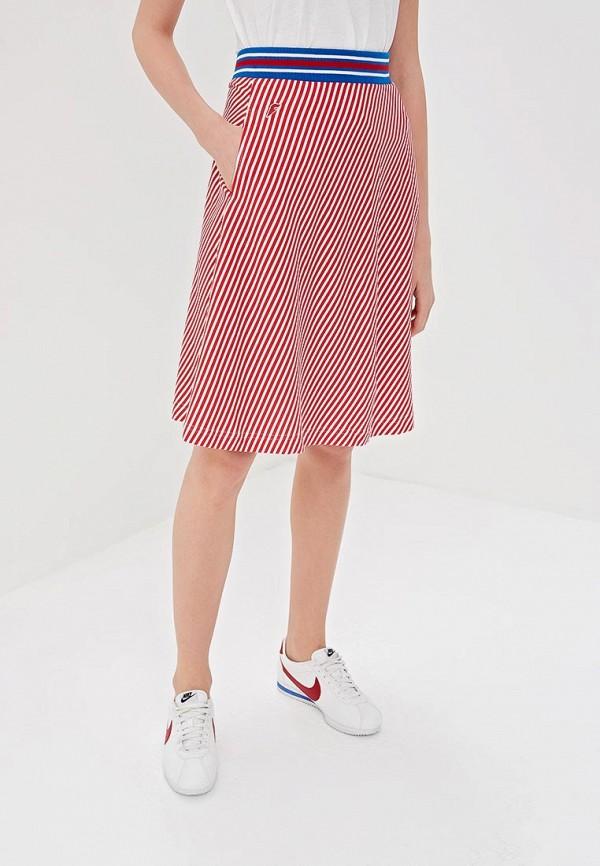 женская юбка forward, красная