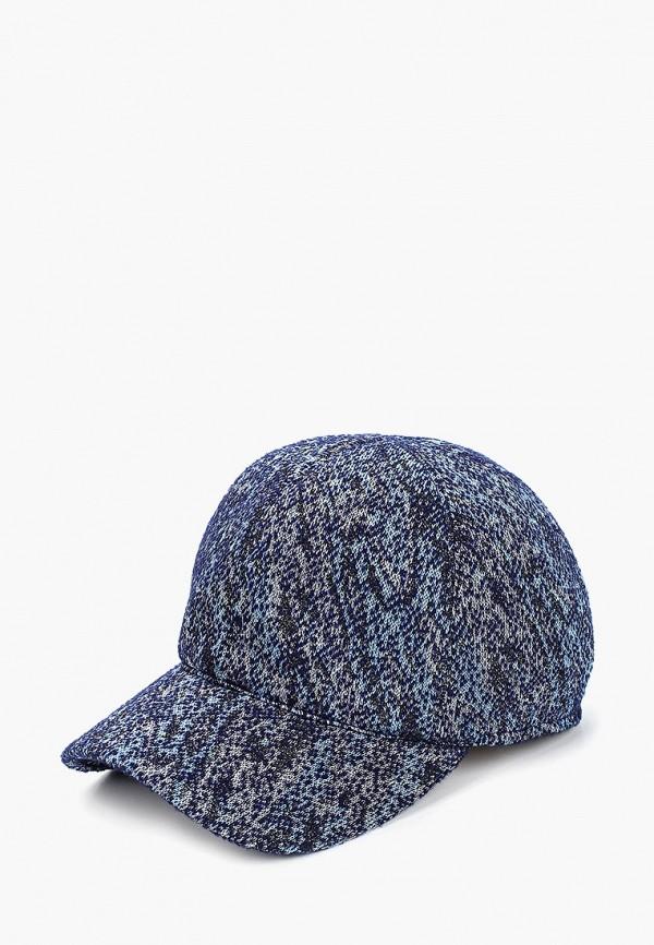 женская бейсболка forti knitwear, синяя
