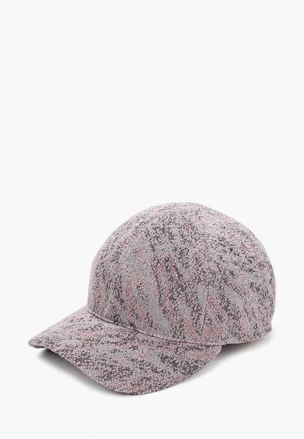 женская бейсболка forti knitwear, серая