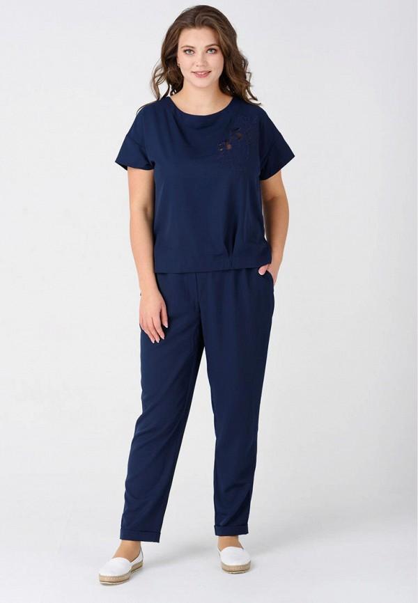 женский костюм ricamare, синий