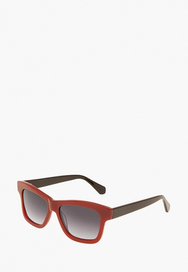 женские солнцезащитные очки enni marco, красные