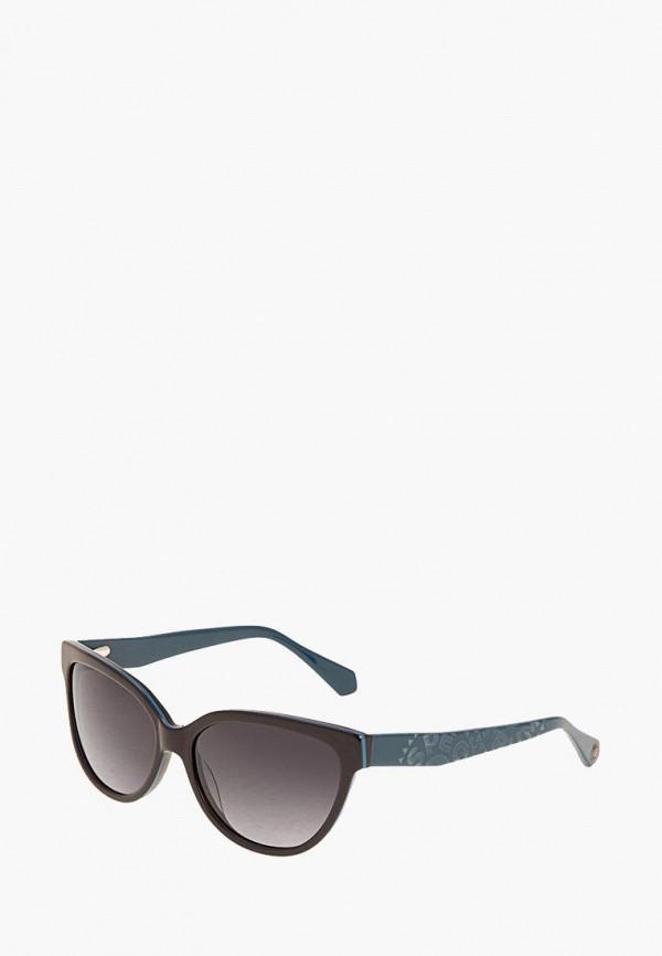 женские солнцезащитные очки enni marco, синие