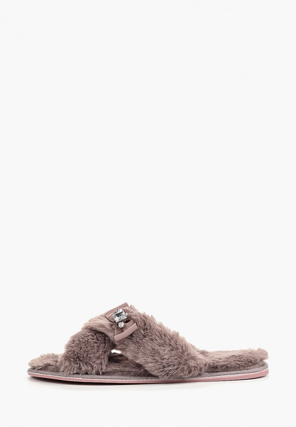 женские тапочки sofi de marko, коричневые