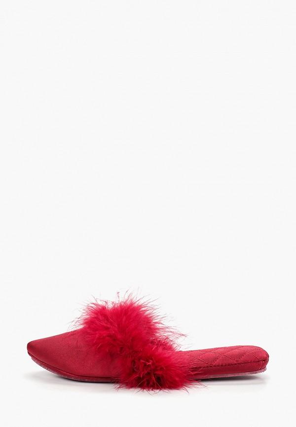 женские тапочки sofi de marko, бордовые