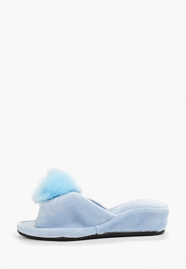 женские тапочки sofi de marko, голубые