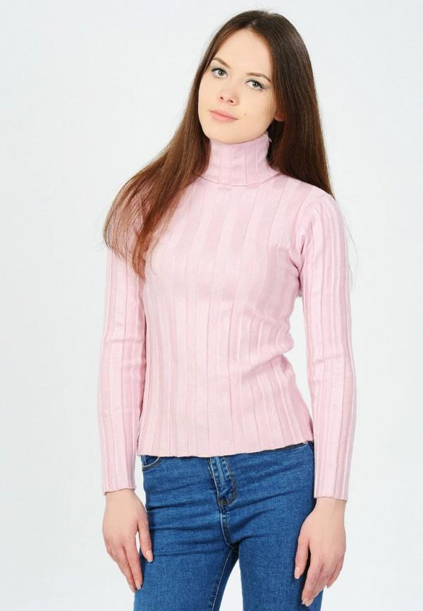 женская водолазка pavli, розовая