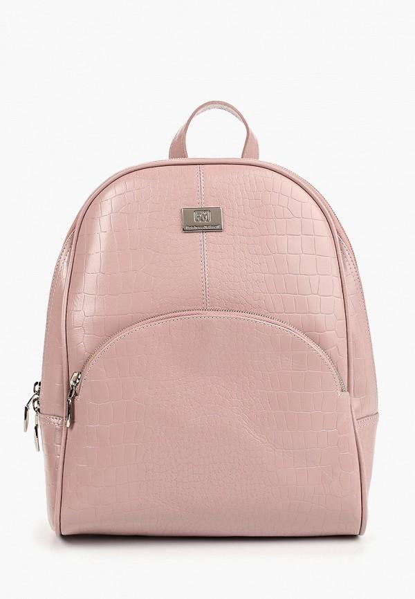 женский рюкзак franchesco mariscotti, розовый