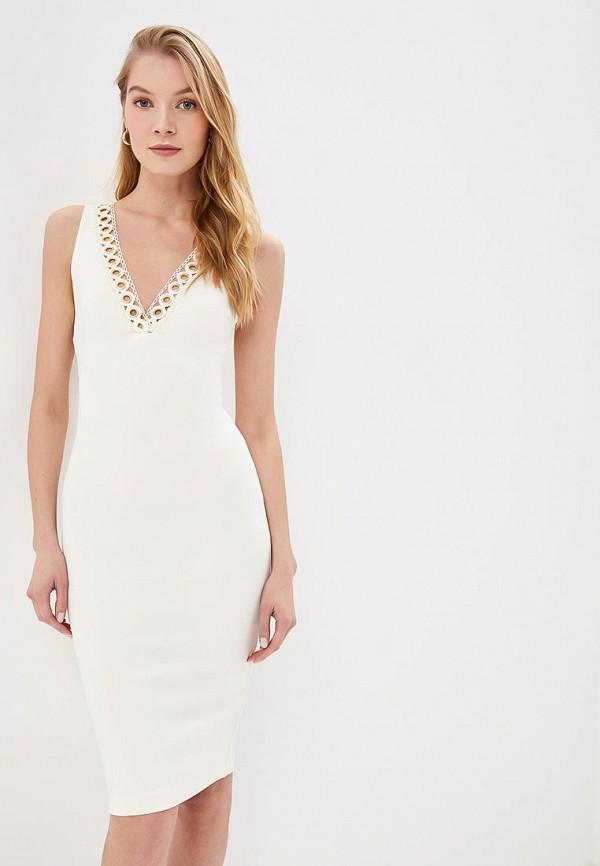 женское повседневные платье love republic, белое