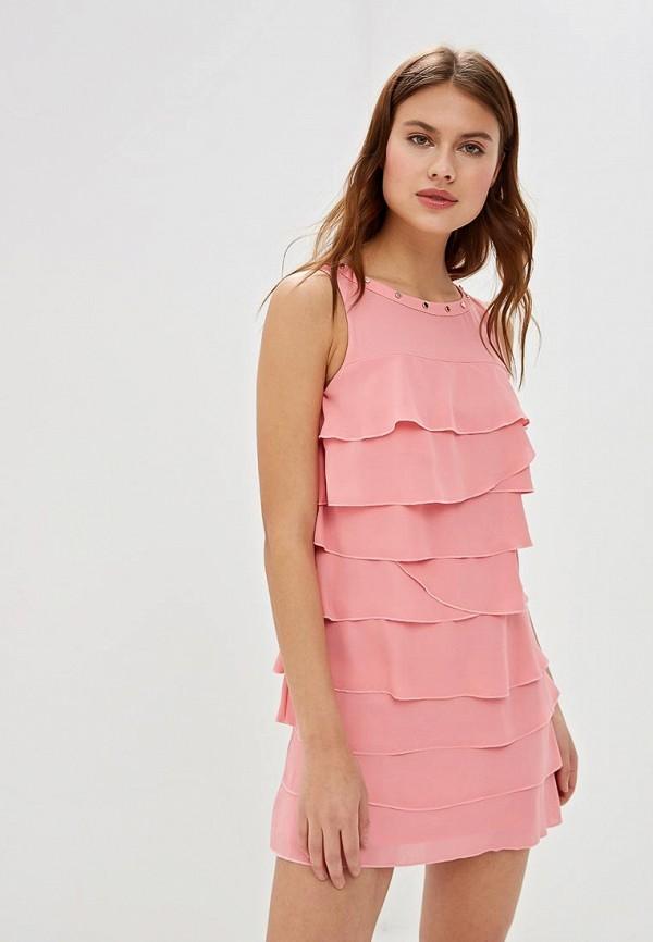женское повседневные платье love republic, розовое