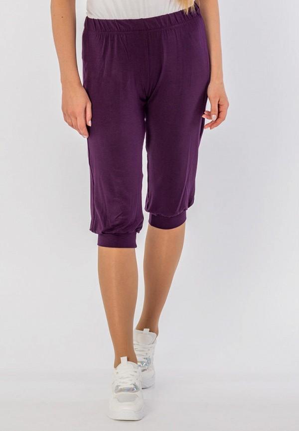 женские капри mana, фиолетовые
