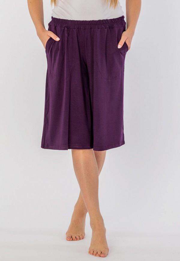 женские шорты mana, фиолетовые