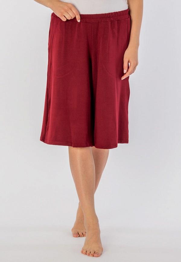 женские шорты mana, бордовые