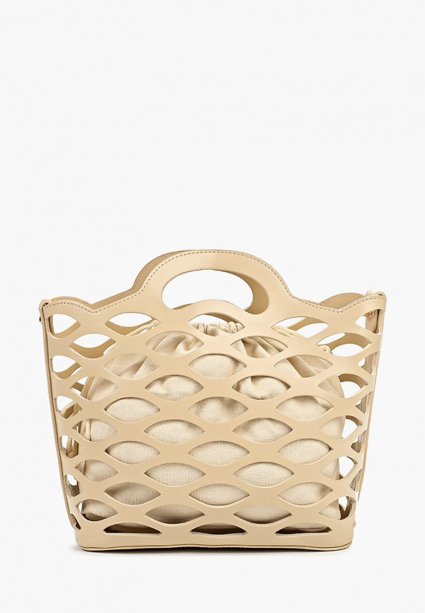 женская сумка zarina, бежевая