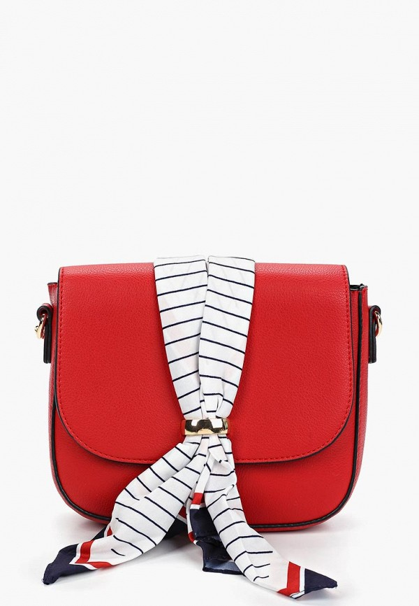 женская сумка zarina, красная