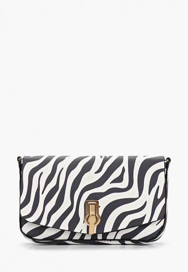 женская сумка zarina, белая