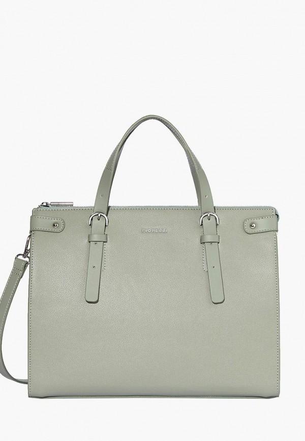 женская сумка fiorelli, зеленая