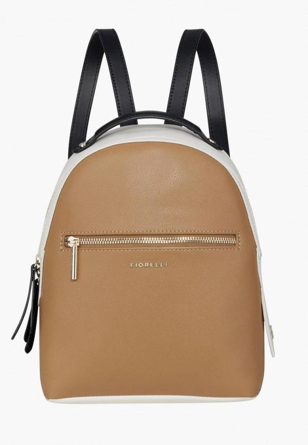 женский рюкзак fiorelli, коричневый