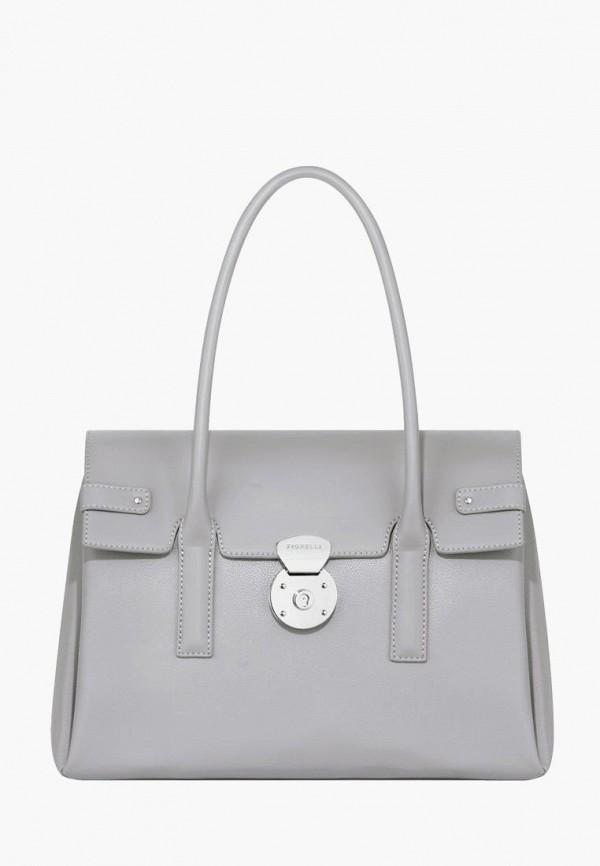 женская сумка fiorelli, серая