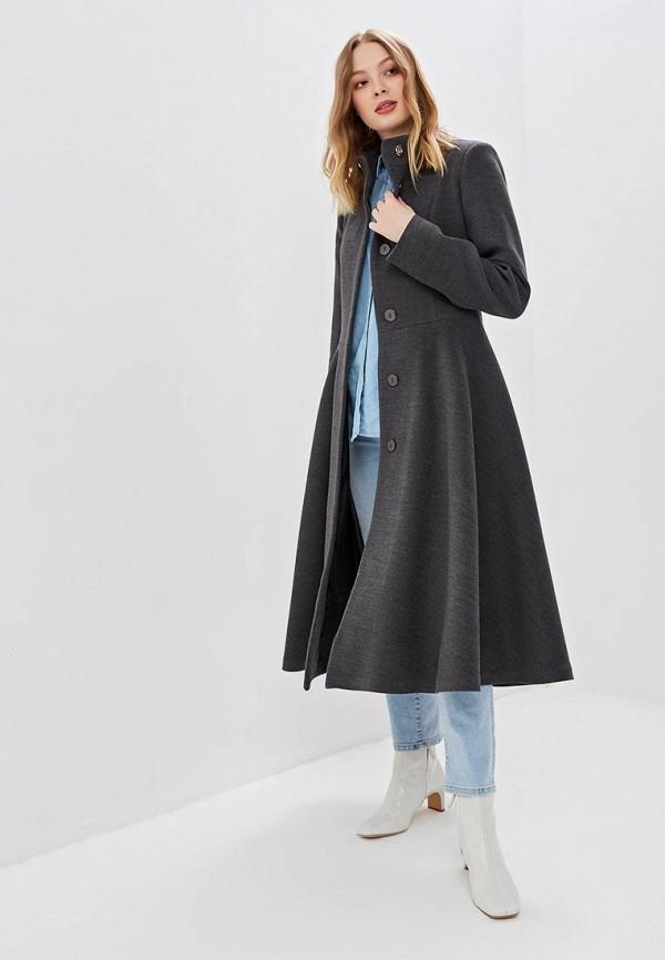 женское пальто karolina, серое