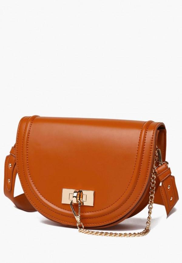 женская сумка через плечо dda, оранжевая