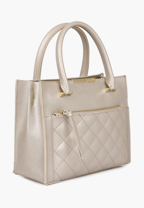 женская сумка laura ashley, бежевая