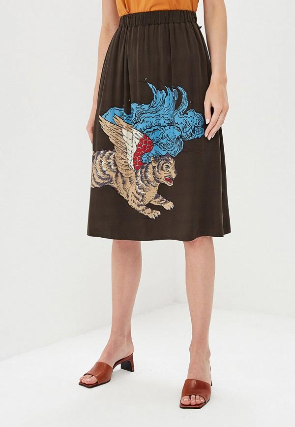 Фото - Женскую юбку Akhmadullina Dreams коричневого цвета