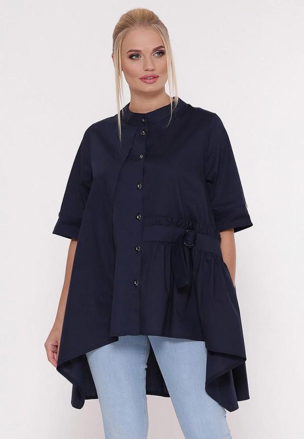женская блузка vlavi, синяя