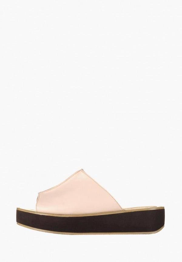 женское сабо litvin, бежевое