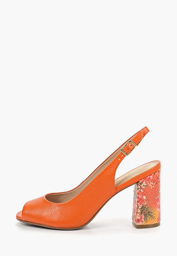 женские босоножки indiana, оранжевые