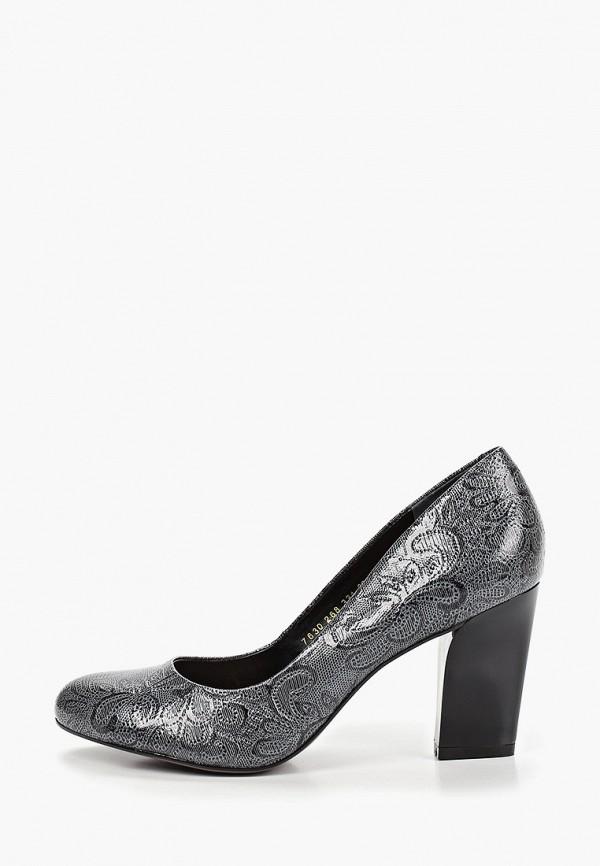 женские туфли indiana, серые