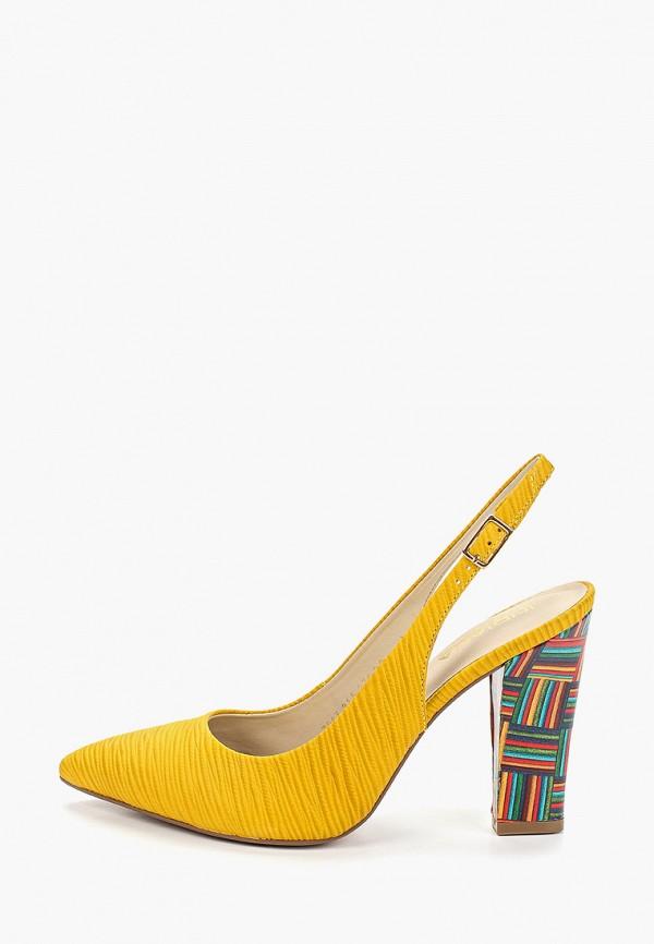 женские туфли indiana, желтые