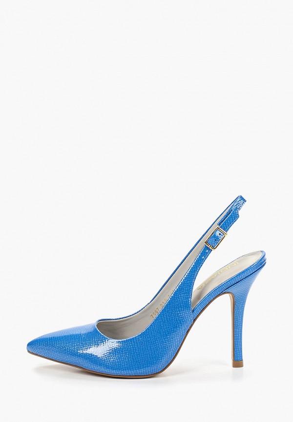 женские туфли indiana, синие