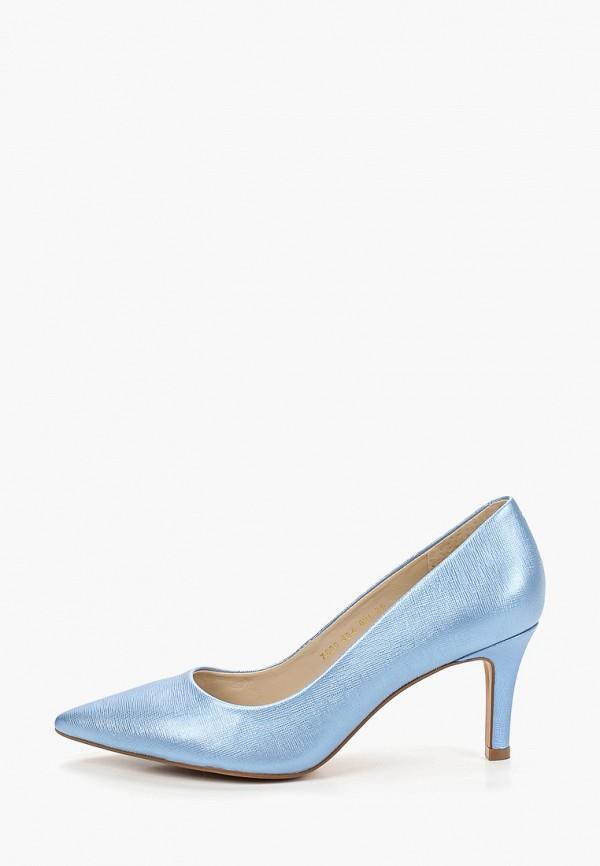 женские туфли indiana, голубые