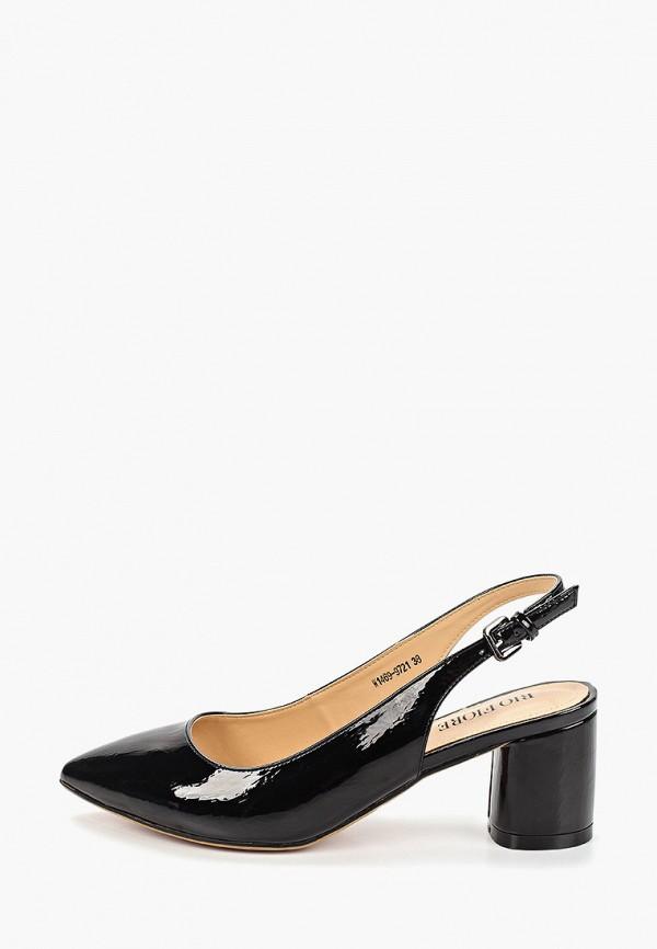 женские туфли rio fiore, черные