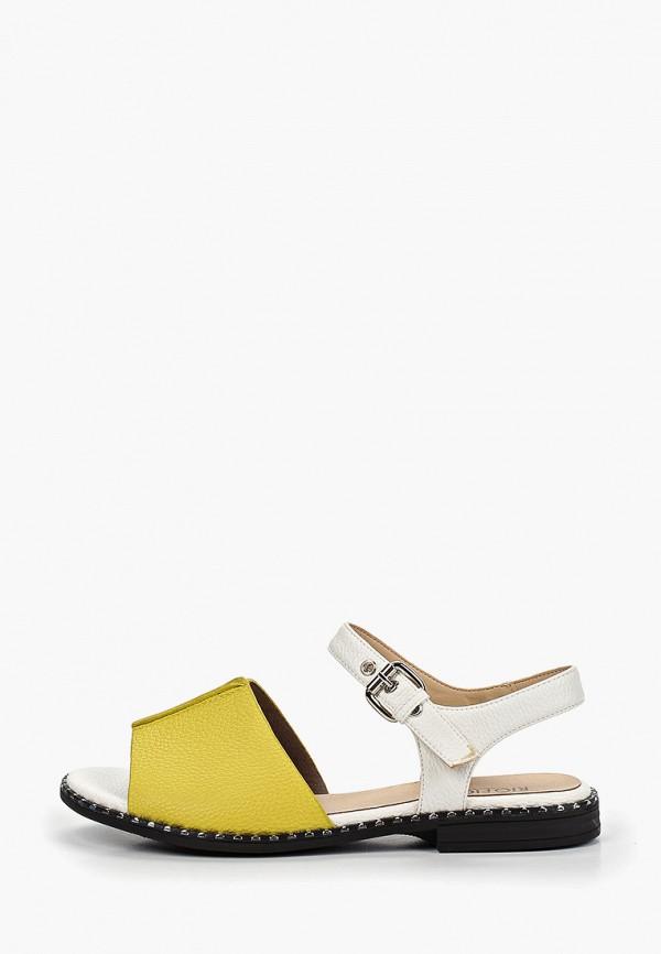 женские сандалии rio fiore, желтые