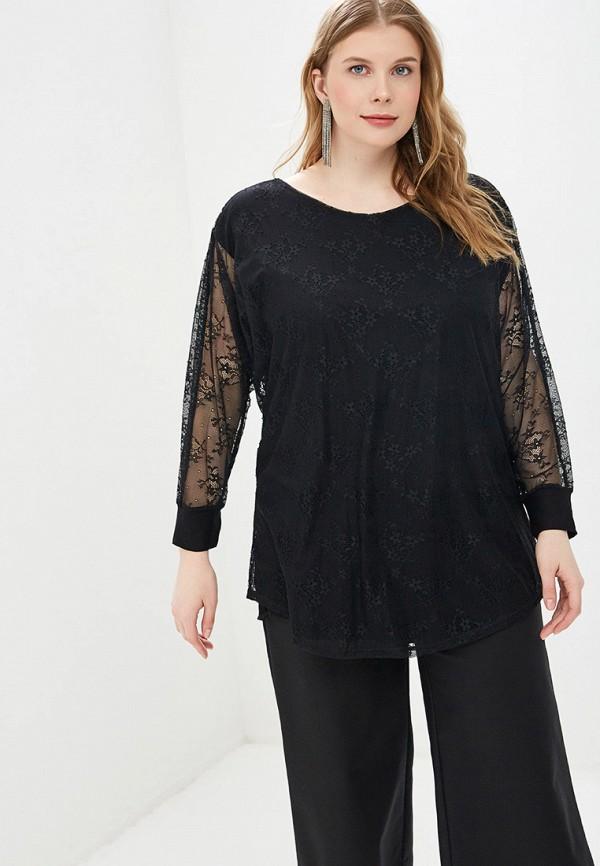 женская блузка el fa mei, черная