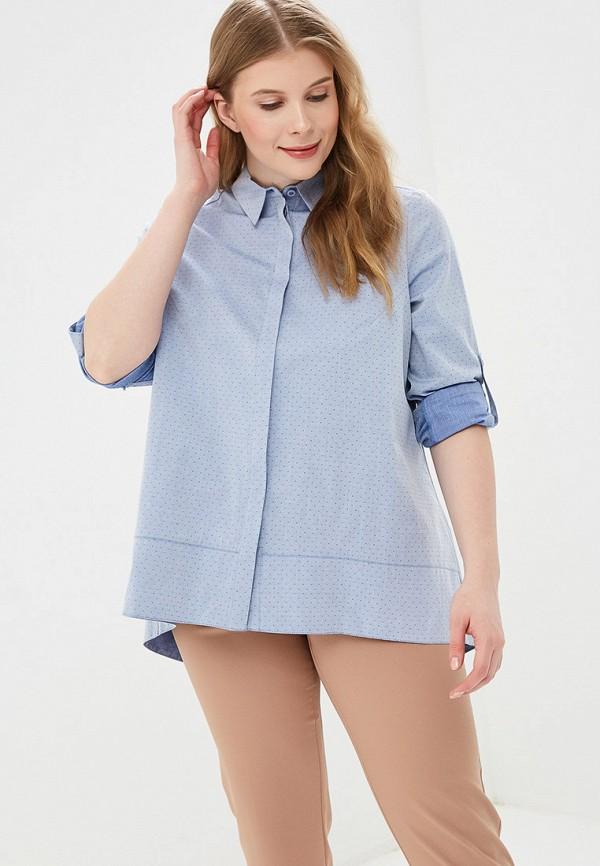 женская блузка d'lys, голубая