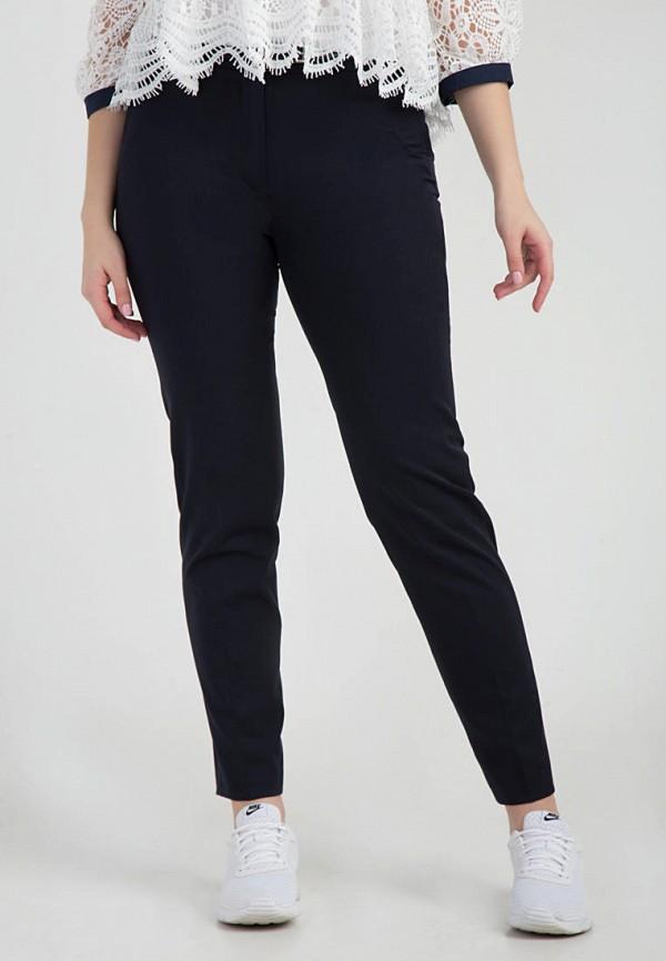 женские классические брюки das, синие