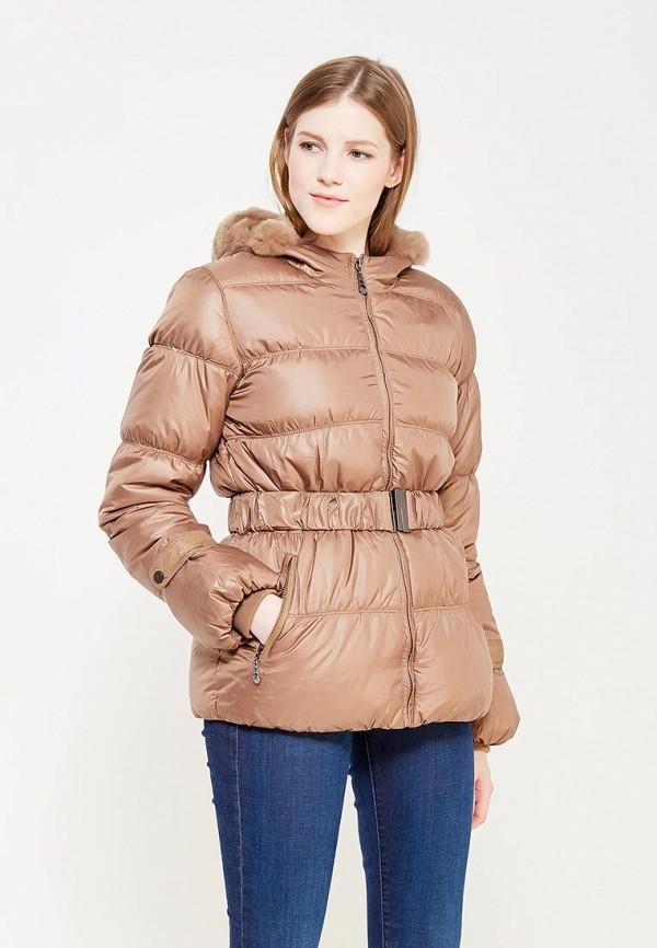 Купить Пуховик Colin's, MP002XW0EVG0, коричневый, Осень-зима 2017/2018